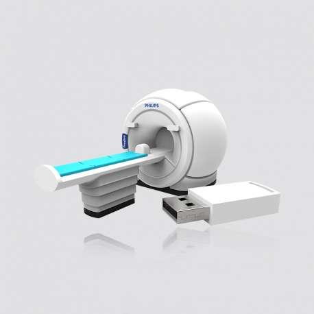Custom PVC  MRI Scan Shaped USB