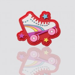 """Personalized PVC Tag """"ROLLERSKATES"""""""