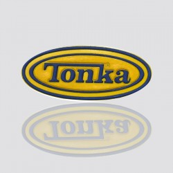 "Custom Shaped Tag Design ""TONKA"""