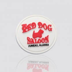 "Custom PVC Tag ""RED DOG"""