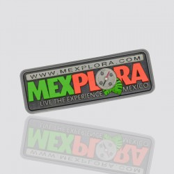 "Personalized PVC Tag ""MEXPLORA"""