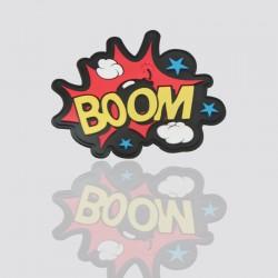 """100% Custom Shaped Tag """"BOOM"""""""