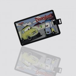 "Luggage Tags Custom Shaped ""CARS"""