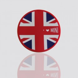 """Creative Custom Coaster """"I LOVE MINI"""""""