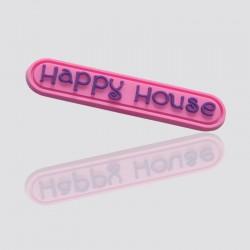 "Customized PVC Tag ""HAPPY HOUSE"""