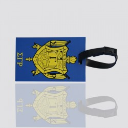 "Creative Custom Luggage Tag ""FOUNDED 1922"""