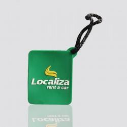 "Unique Custom Keychain ""LOCALIZA"""