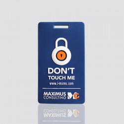 """Personalized Luggage Tags """"MAXIMUS"""""""