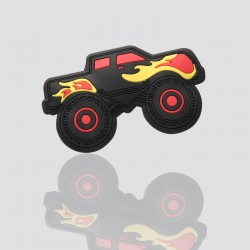 """Customized PVC Soft Rubber Tag """"MONSTER TRUCK"""""""
