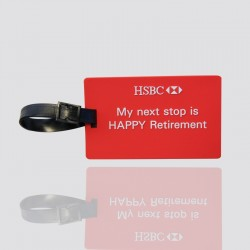 "Personalized Luggage Tag ""HSBC"""