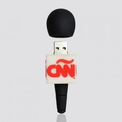 "100% Custom Shaped USB Flash Drive ""CNN"""