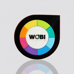 "Creative Custom Tag ""WOBI"""