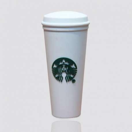 POWER BANK promocional en forma de vaso de café STARBUCKS