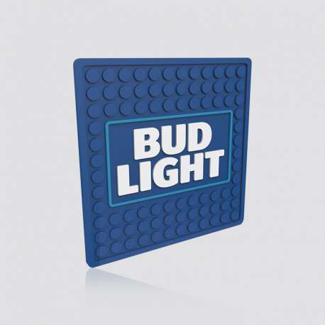 Customized Bar Mat Coaster Bud Light